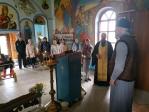 Преосвященнейший епископ Николай совершил Всенощное бдение в с.Ерлыково