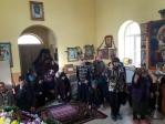 Архиерейская служба в Камчалытамаке