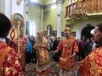 Преосвященнейший епископ Николай принял молитвенное участие в Литургии, которую возглавил Глава Башкортостанской митрополии в Благовещенском монастыре в Стерлитамаке