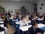 Иерей Владимир Быков в школе