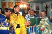 В день празднования Владимирской иконы Божией Матери Преосвященнейший епископ  Николай совершил Литургию в Казанском храме в Степановке