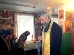 Епископ Николай совершил малую вечерню с акафистом благоверному великому князю Александру Невскому