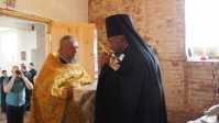 Владыка Николай совершил Божественную литургию в селе Ахлыстино