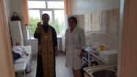 Освящение терапевтического отделения Кумертауской ЦГБ