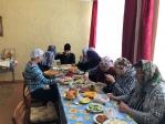 Богослужение в Свято-Варваринском приходе с.Шингак-Куль