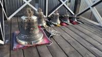 Освящение набора колоколов для Звонницы Прихода Арх.Михаила с.Базлык