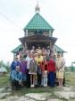 Преосвященнейший епископ Николай совершил Литургию в Табынском храме в Арсеново