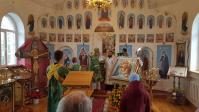 В день памяти преподобных Антония и Феодосия Печерских Преосвященнейший епископ Николай совершил Литургию в Свято-Антониевском храме с.Антоновка