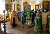 Архипастырское богослужение в с. Тарабердино