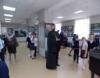Посещение Свято-Никольским приходом с. Раевский фотовыставки «Патриарх. Служение Богу, Церкви и людям» и храмов г. Салават