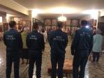 Сотрудники пожарной части Салавата посетили богослужения в Успенском кафедральном соборе