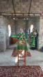 В день памяти благоверных князя Петра и княгини Февронии Муромских Преосвященнейший епископ Николай совершил Литургию в строящемся храме с.Аксеново