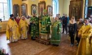 В день памяти пророка Илии Преосвященнейший епископ Николай совершил Литургию в храме с.Тарабердино