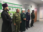 Клирик Успенского кафедрального собора принял участие в проводах призывников г. Салават