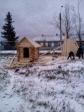 Установка детского городка на территории Введенского храма г. Баймака