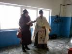 Великое освящение воды в МУП «Салаватводоканал» в п. Зиргане Мелеузовского района и на берегу р. Белая в районе турбазы «Агидель»