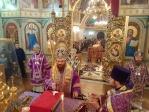 Архиереи Башкортостанской митрополии возглавили Литургию в день свт. Григория ПАЛАМЫ