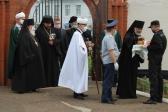 Преосвященнейший епископ Николай совершил чин освящения закладных камней в основание храмов в ИК №№ 2 и 16