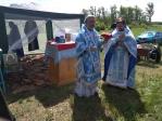 Преосвященнейший епископ Николай совершил Литургию в Кекен-Васильевке