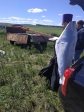 Установка поклонного креста в Миякинском районе