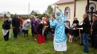 Епископ Николай совершил Божественную литургию в Спасском храме с.Медведерово