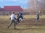 Футбольный матч в селе Чуваш-Карамалы