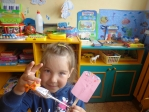 Занятие для самых маленьких в детском саду села Чуваш-Карамалы