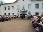 День знаний в школе № 8 с. Маячный