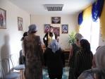 Причастие в ПНИ с. Маячный
