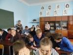 Беседа с учениками 9 классов в школе № 8 с. Маячный  «О вреде алкоголя и табакокурения»