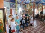 Пасхальный концерт для прихожан храма в честь иконы Божией Матери «Державная» с. Маячный