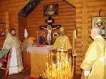 Преосвященнейший Владыка Николай совершил Божественную литургию и панихиду на новом кладбище г.Давлеканово