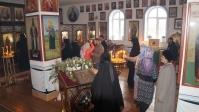 Празднование Иверской иконе Богородицы в Покрово Эннатском монастыре