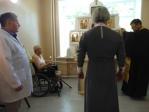 Преосвященнейший епископ Николай освятил молебную комнату в с. Раевский