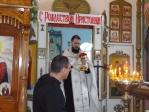 В дни святок в храме при ФКУ ИК-№4 состоялись Рождественские богослужения