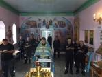 В храме при ФКУ ИК-№4 УФСИН РФ по РБ были совершены акафистное молебное пение и заупокойная лития