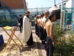 В храме при ФКУ ИК-№ 4 состоялось Таинство Крещения