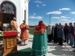Преосвященнейший епископ Николай совершил Божественную литургию в часовне с.Купоярово