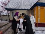 В канун недели 23-й по Пятидесятнице епископ Николай совершил всенощное бдение в храме во имя вмч. Димитрия Солунского в Каменке