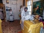 Архипастырское богослужение в Димитриевскую родительскую субботу в Никольском храме п. Раевский