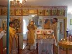 Богослужение Владыки Николая в с.Ивановка, Давлекановского района