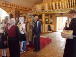 Архипастырский визит Владыки Николая в с.Раевский, Альшеевского района