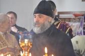 В Неделю 5-ю Великого поста, прп.Марии Египетской, епископ Николай совершил Литургию в храме Воскресения Словущего в с.Воскресенское