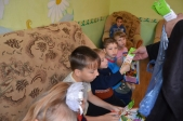 Посещение социального приюта для детей