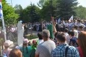 Открытие памятника морякам в с. Раевский