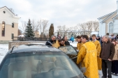 Состоялись проводы ковчега с частицами мощей Киево-Печерских святых