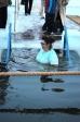 Чин великого освящения воды на реке Белая в городе Мелеузе
