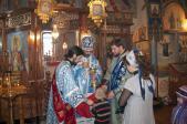 Архиерейское Богослужение в Марфо-Мариинском женском монастыре с. Ира