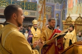 Преосвященнейший епископ Николай совершил молебное пение на новолетие