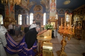 В праздник Вознесения Господня Преосвященнейший епископ Николай совершил Литургию в Успенском кафедральном соборе в Салавате
